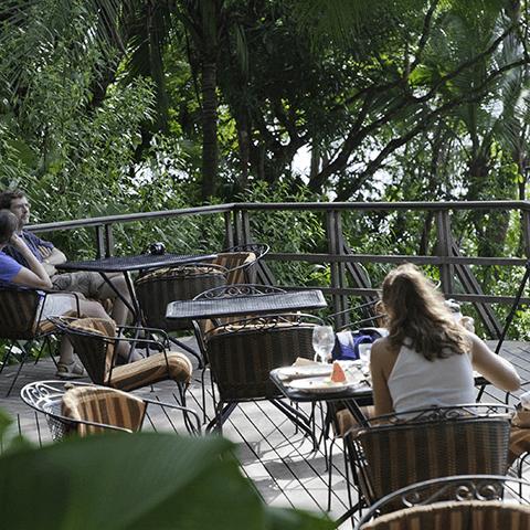 Lapa Rios Restaurant Deck