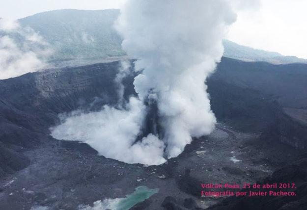 Poas Volcano Eruption